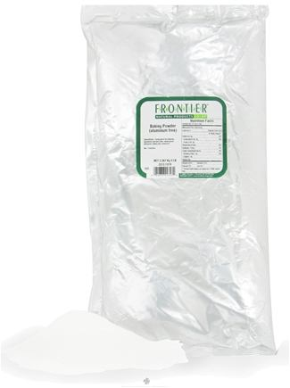 DROPPED: Frontier Natural Products - Baking Powder Double Aluminum Free - 5 lbs. CLEARANCE PRICED