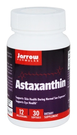 Jarrow Formulas - Astaxanthin 12 mg. - 30 Softgels