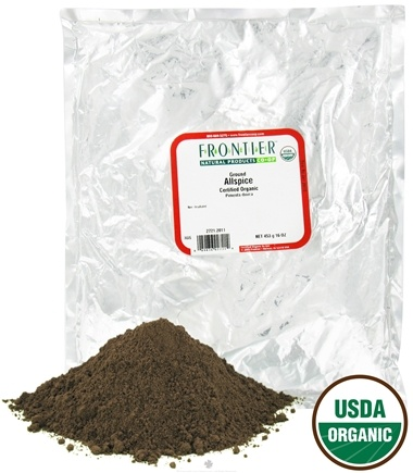 DROPPED: Frontier Natural Products - Allspice Powder Organic - 1 lb. CLEARANCE PRICED