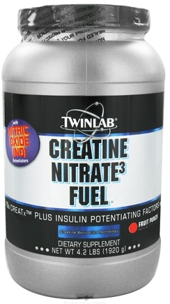 DROPPED: Twinlab - Creatine Nitrate Fuel Fruit Punch - 4.2 lbs. CLEARANCE PRICED