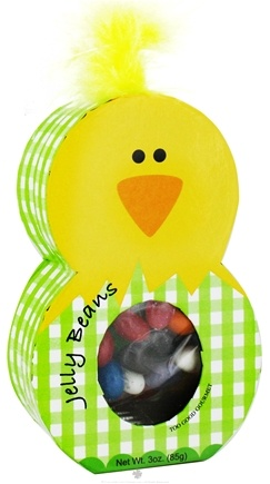 DROPPED: Too Good Gourmet - Assorted Jelly Beans in Easter Chick Character Box - 3 oz. CLEARANCE PRICED