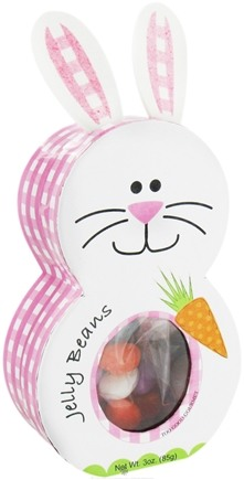 DROPPED: Too Good Gourmet - Assorted Jelly Beans in Easter Bunny Character Box - 3 oz. CLEARANCE PRICED
