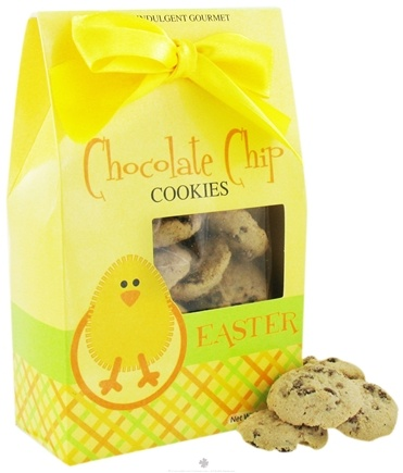 DROPPED: Too Good Gourmet - Chocolate Chip Cookies in Decorative Easter Chick Face Box - 7 oz.