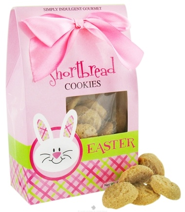 DROPPED: Too Good Gourmet - Shortbread Cookies in Decorative Easter Bunny Face Box - 7 oz.
