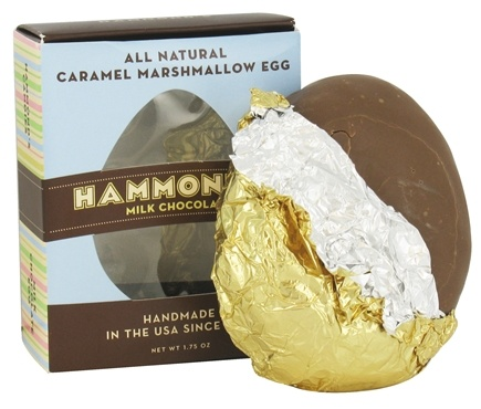 DROPPED: Hammond's Candies - All Natural Caramel Marshmallow Easter Egg Milk Chocolate - 1.75 oz.