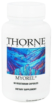 DROPPED: Thorne Research - Myorel - 60 Vegetarian Capsules CLEARANCE PRICED