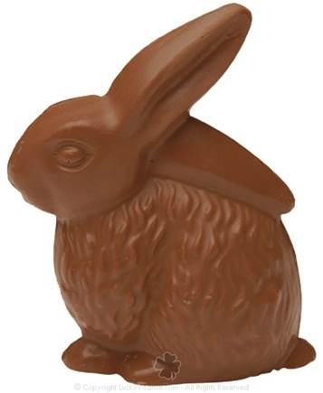 DROPPED: Hammond's Candies - All Natural Solid Milk Chocolate Handmade Country Bunny - 9 oz. CLEARANCE PRICED