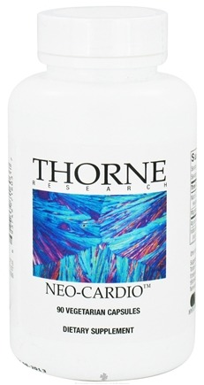 DROPPED: Thorne Research - Neo-Cardio - 90 Vegetarian Capsules CLEARANCE PRICED