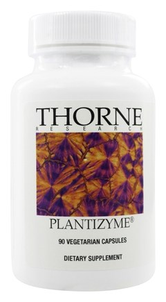 Thorne Research - Plantizyme - 90 Vegetarian Capsules