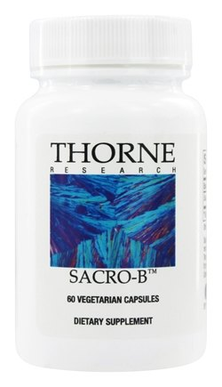 Thorne Research - Sacro-B 250 mg. - 60 Vegetarian Capsules
