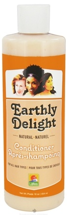DROPPED: Earthly Delight - Natural Conditioner - 16 oz. CLEARANCE PRICED