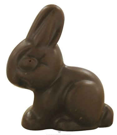 DROPPED: Sjaak's Organic Chocolate - Vegan Milk Chocolate Small Almond Butter Easter Bunny - 1.1 oz.