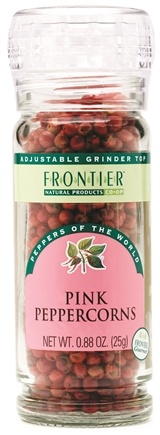 DROPPED: Frontier Natural Products - Pink Peppercorns - 0.88 oz. CLEARANCE PRICED