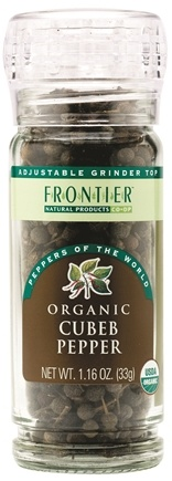 DROPPED: Frontier Natural Products - Cubeb Pepper Organic - 1.16 oz.