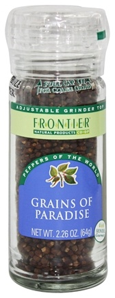 DROPPED: Frontier Natural Products - Grains of Paradise Seed - 2.26 oz.