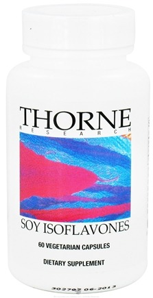 DROPPED: Thorne Research - Soy Isoflavones 50 mg. - 60 Vegetarian Capsules CLEARANCE PRICED