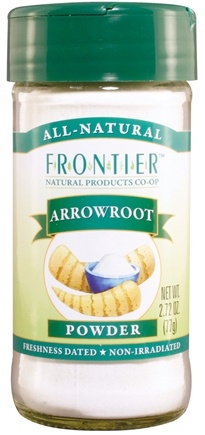 DROPPED: Frontier Natural Products - Arrowroot Powder - 2.72 oz.