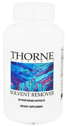 DROPPED: Thorne Research - Solvent Remover - 90 Vegetarian Capsules