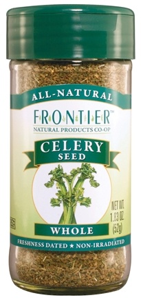 DROPPED: Frontier Natural Products - Celery Seed Whole - 1.83 oz. CLEARANCE PRICED