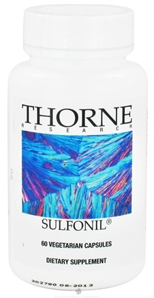 DROPPED: Thorne Research - Sulfonil - 60 Vegetarian Capsules