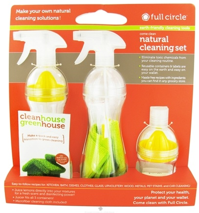 DROPPED: Full Circle - Come Clean Natural Cleaning Set - CLEARANCE PRICED