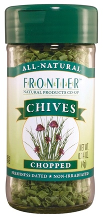 DROPPED: Frontier Natural Products - Chives Chopped - 0.14 oz. CLEARANCE PRICED