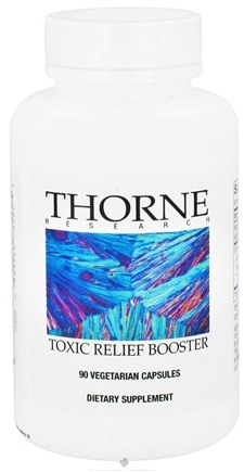 DROPPED: Thorne Research - Toxic Relief Booster - 90 Vegetarian Capsules CLEARANCE PRICED