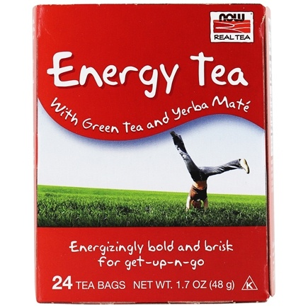 NOW Foods - Full Tilt Energy Tea Blend - 24 Tea Bags