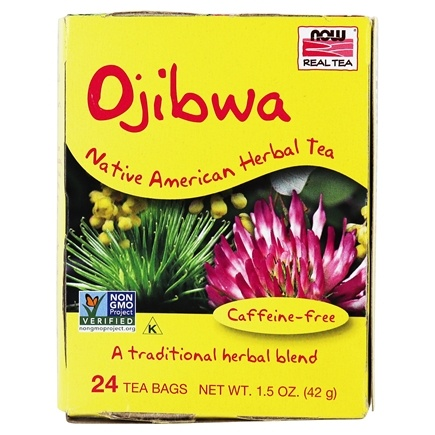 NOW Foods - Ojibwa Herbal Cleansing Tea - 24 Tea Bags
