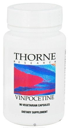 DROPPED: Thorne Research - Vinpocetine 10 mg. - 90 Vegetarian Capsules