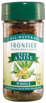 DROPPED: Frontier Natural Products - Star Anise Whole Select - 0.64 oz.