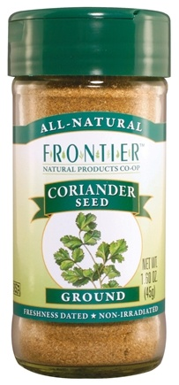 DROPPED: Frontier Natural Products - Coriander Seed Ground - 1.6 oz. CLEARANCE PRICED