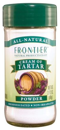 DROPPED: Frontier Natural Products - Cream of Tartar Powder - 3.52 oz.
