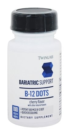 Twinlab - Bariatric Support B-12 Dots Cherry - 100 Mini-Tab(s)