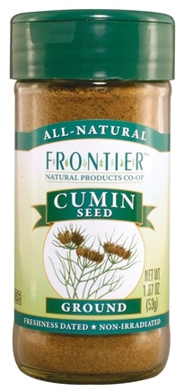 DROPPED: Frontier Natural Products - Cumin Seed Ground - 1.87 oz. CLEARANCE PRICED