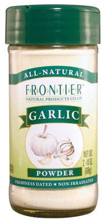 DROPPED: Frontier Natural Products - Garlic Powder - 2.7 oz. CLEARANCE PRICED