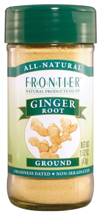 DROPPED: Frontier Natural Products - Ginger Root Ground - 1.52 oz. CLEARANCE PRICED