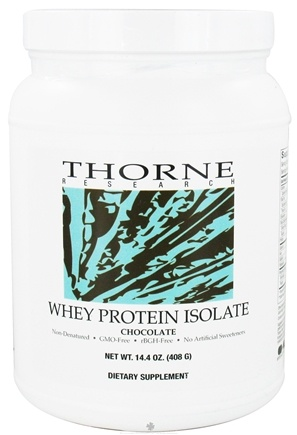 DROPPED: Thorne Research - Whey Protein Isolate Chocolate - 14.4 oz.