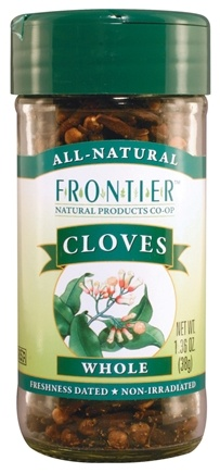 DROPPED: Frontier Natural Products - Cloves Whole - 1.36 oz. CLEARANCE PRICED