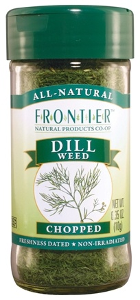 DROPPED: Frontier Natural Products - Dill Weed Chopped - 0.35 oz. CLEARANCE PRICED