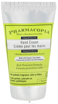 DROPPED: Pharmacopia - Hand Cream Verbena & Green Tea - 1.7 oz.