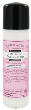 DROPPED: Pharmacopia - Bath Salts Jasmine & Clary Sage - 11 oz. CLEARANCE PRICED