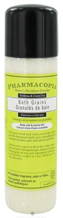 DROPPED: Pharmacopia - Bath Salts Verbena & Green Tea - 11 oz. CLEARANCE PRICED