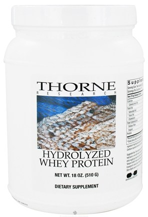 DROPPED: Thorne Research - Hydrolyzed Whey Protein - 18 oz.