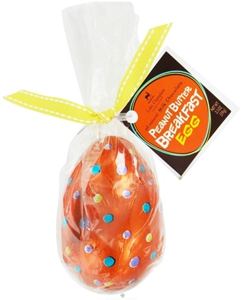 DROPPED: Lake Champlain Chocolates - All Natural Milk Chocolate Peanut Butter Breakfast Easter Egg - 2.1 oz.
