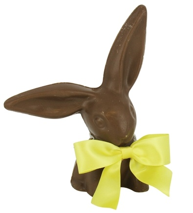 DROPPED: Hammond's Candies - All Natural Solid Milk Chocolate Handmade Large Floppy Ear Bunny - 7 oz. CLEARANCE PRICED