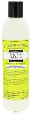 DROPPED: Pharmacopia - Body Wash Verbena & Green Tea - 8 oz. CLEARANCE PRICED