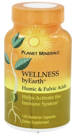 DROPPED: Planet Minerals - ByEarth Wellness Humic & Fulvic Acids - 120 Vegetarian Capsules