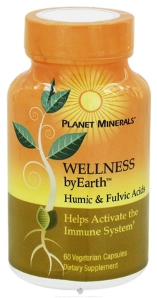 DROPPED: Planet Minerals - ByEarth Wellness Humic & Fulvic Acids - 60 Vegetarian Capsules