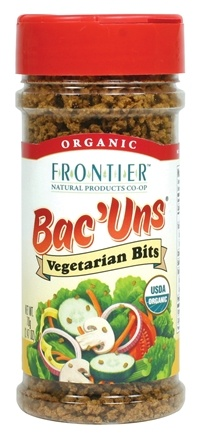 DROPPED: Frontier Natural Products - Bac'uns Vegetarian Bits Organic - 2.47 oz.